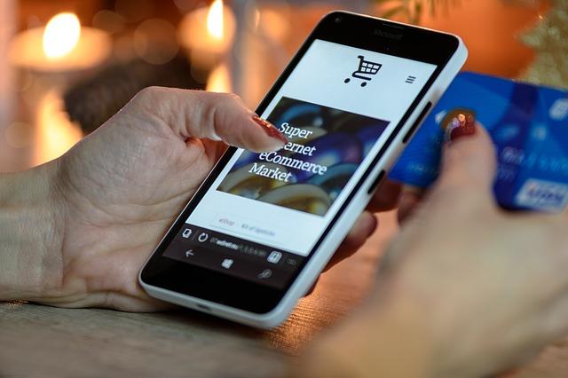 mobil a nakupování